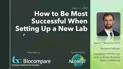 How to be Most Successful When Setting Up a New Lab Webinar