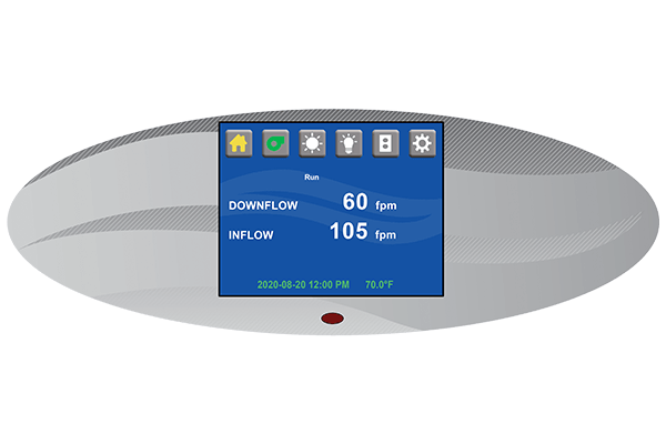 TouchLink Control System from Biosafety Cabinets